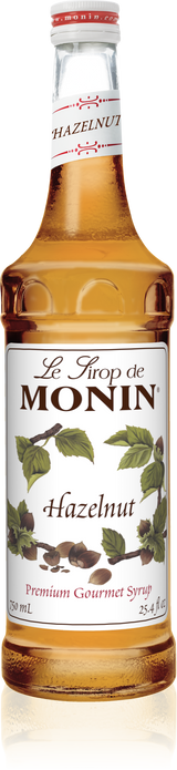 Monin Hazelnut - 750ML Glass Bottle