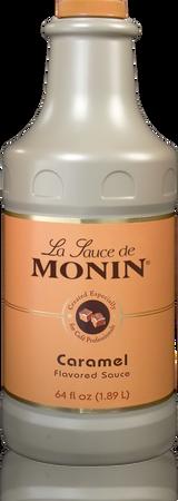 Monin Caramel Sauce - 64 Ounce