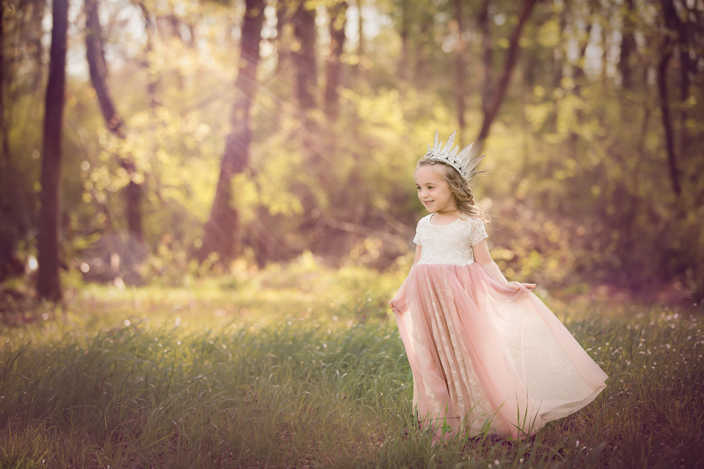 Beige and Blush Tutu Dress