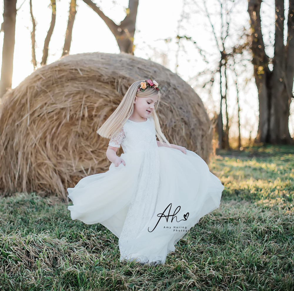 White Lace Tutu Dress