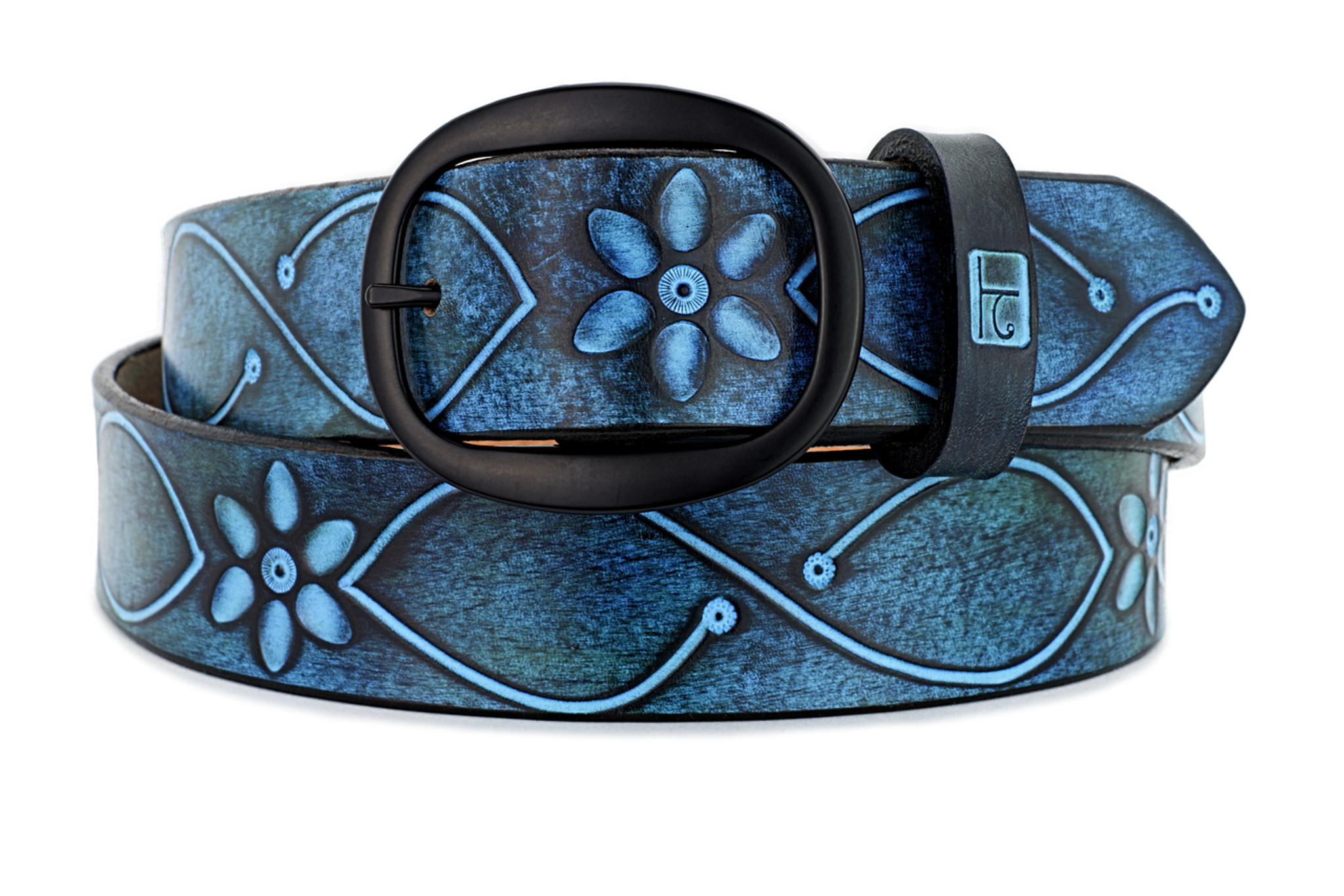 NIGHT TRIPPER Leather Belt