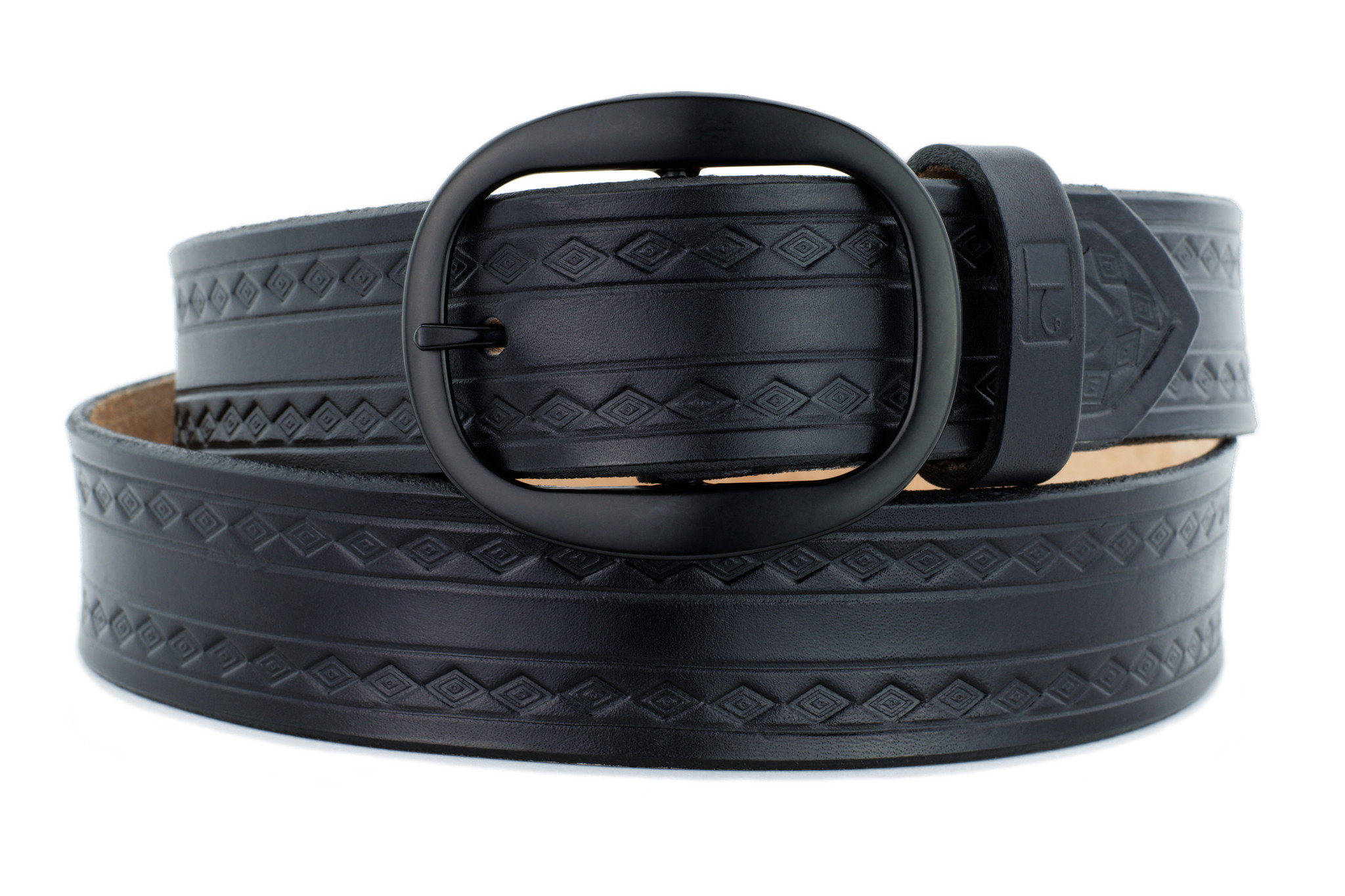 Medicine Man Eye Belt Black 1.5 inches