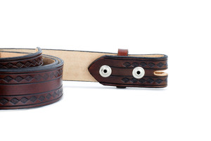 Medicine Man Eye Belt Brown 1.5 Inches