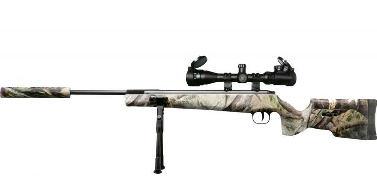 Milbro Target Master Camo inc 3-9x40 Scope & Gunbag