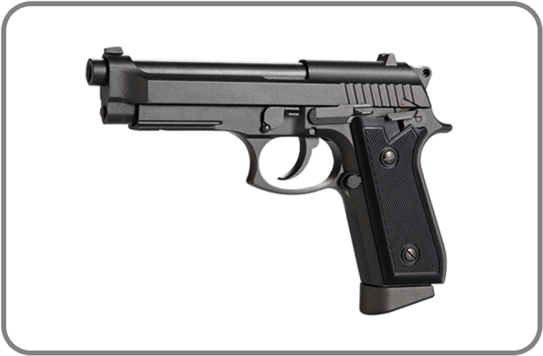 KWC M92 Blowback 6MM BB Co2 Pistol