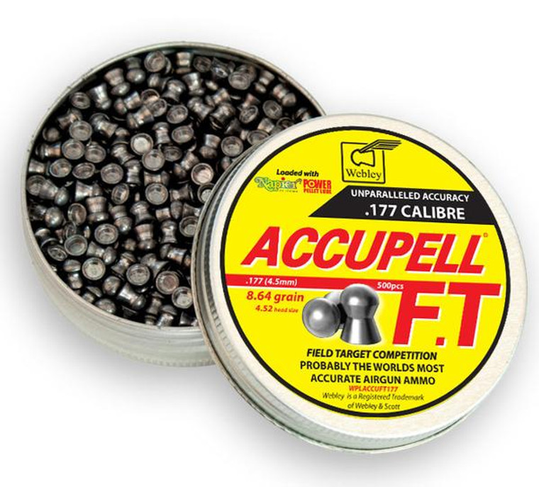 Webley Accupell FT- .177 (500)