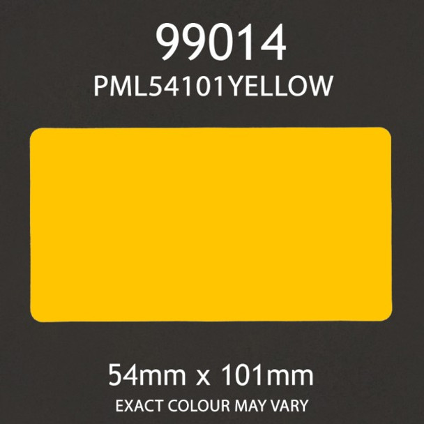 Dymo Compatible 99014 Labels - YELLOW