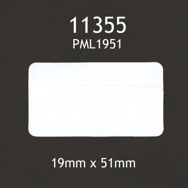 Dymo Compatible 11355 Labels - 19X51Mm White 500 Labels/Pkt
