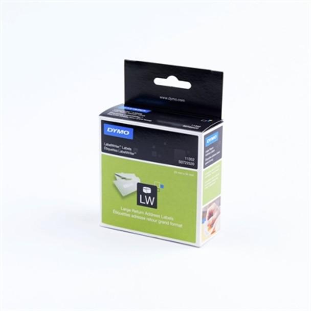 Dymo LabelWriter 11352 (30336) S0722520 Return Address Labels 25X54mm