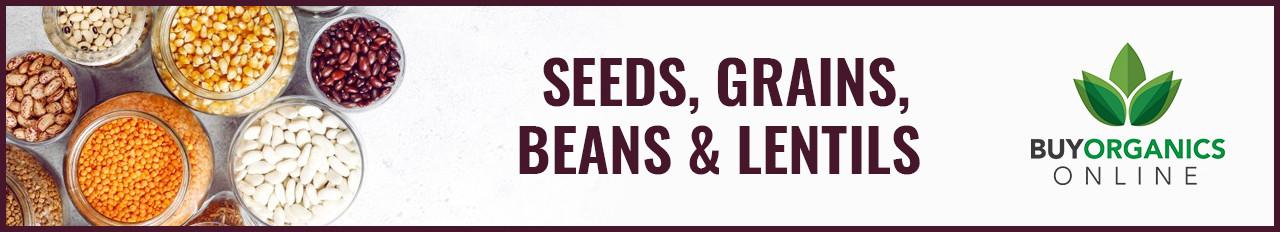 Seeds, Grains, Beans & Lentils