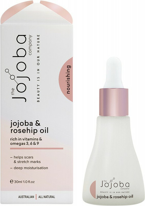 Jojoba Oil + Rosehip Oil 30ml