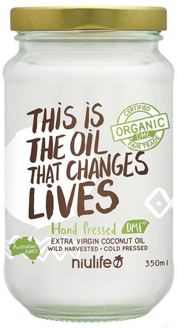 Extra Virgin Coconut Oil 350g by NIULIFE