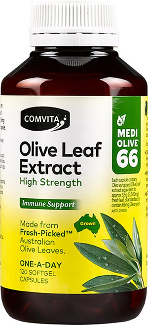 Olive Leaf Extract 120 by Comvita