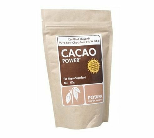 Organic Cacao POWDER 125g by POWER SUPER FOODS