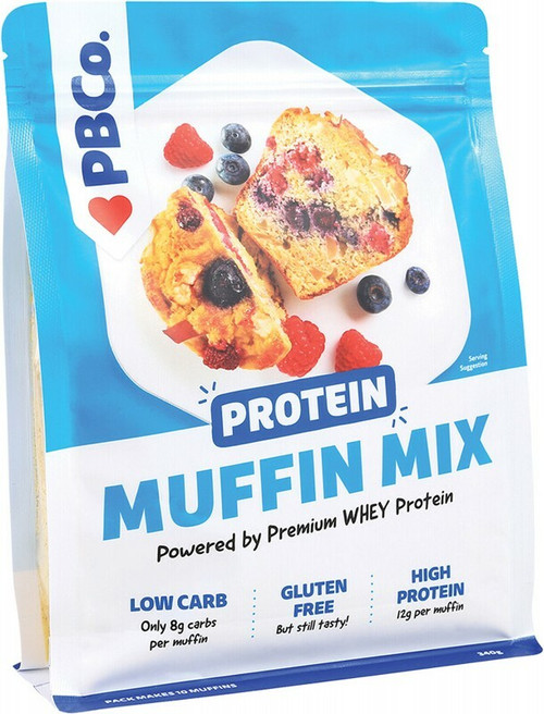PBCo Protein Muffin Mix Plant Protein 340g