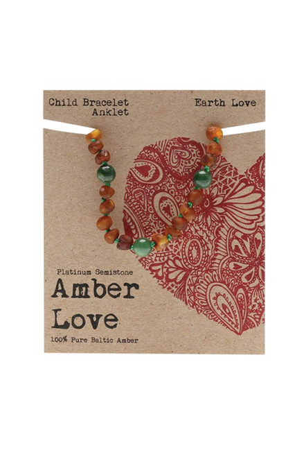 Amber Earth Love 14cm by AMBER LOVE
