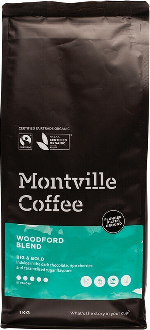 Woodford Plunger 1kg by Montville Coffee