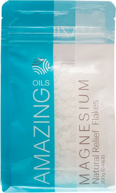 Amazing Oils Magnesium Bath Flakes 200g
