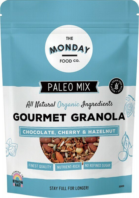 Chocolate Cherry Granola 300g by Monday Food CO.