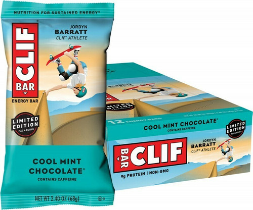 Clif Bar Cool Mint Chocolate 12 x 68gr