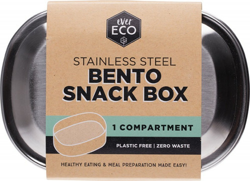Stainless Steel Snack Box One Compartment by Ever Eco