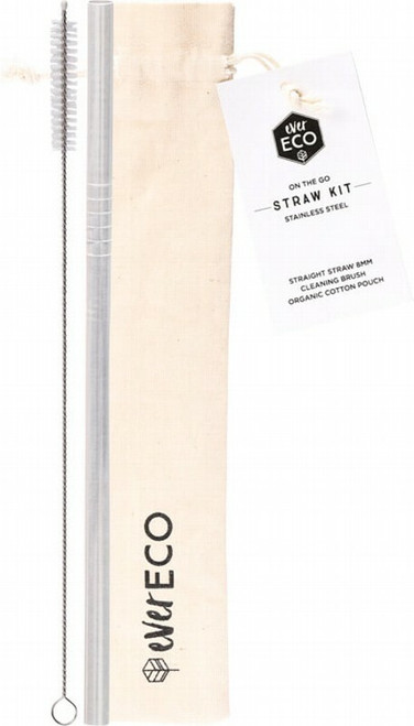 Ever Eco Stainless Steel Straw Kit 1