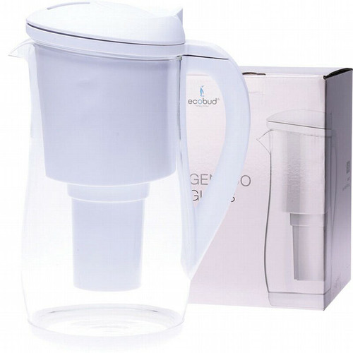 Ecobud Gentoo Glass Water Filter Jug white 1.5L