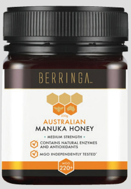 Super Manuka Honey MGO 220+ | 250g | BERRINGA