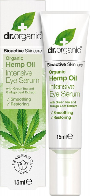 DR ORGANIC Eye Serum - Intensive Organic Hemp Oil 15ml