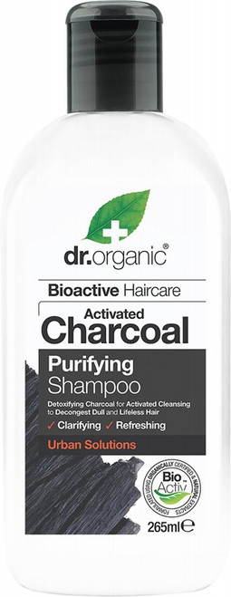 DR ORGANIC Shampoo Activated Charcoal 265ml