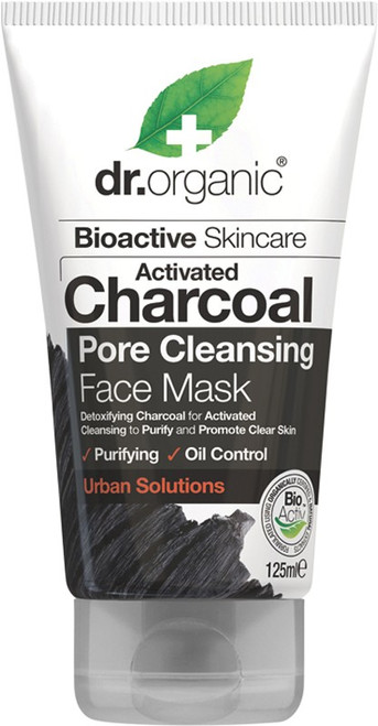 Dr Organic Activated Charcoal Face Mask 125ml (black)