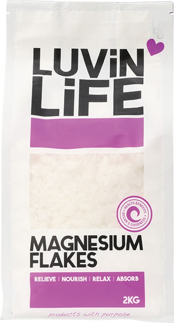 Magnesium Flakes 2kg by Luvin Life