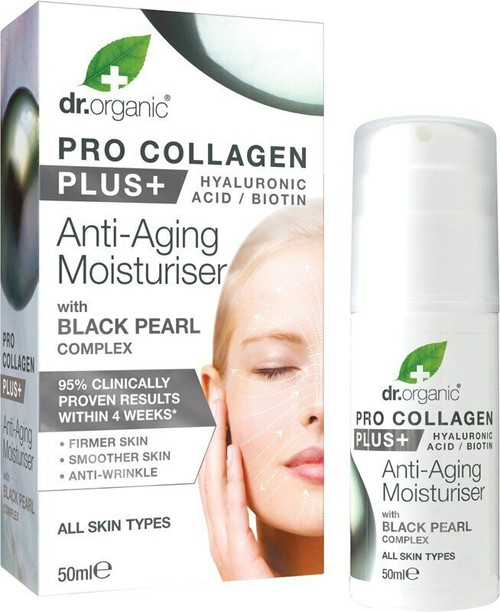 Dr Organic Pro Collagen Black Pearl 50ml