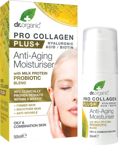 Dr Organic Pro Collagen Probiotic 50ml