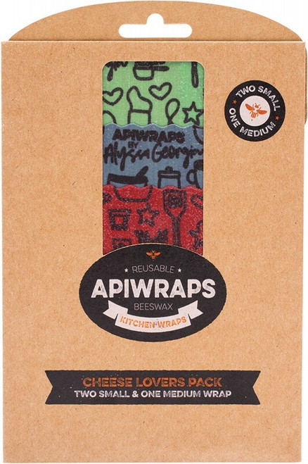 Apiwraps Cheese Lovers Pack x 3
