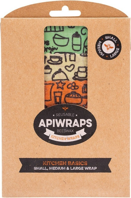 Apiwraps Kitchen Basics x 3