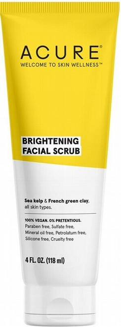Acure Brilliantly Brightening Facial Scrub 118ml