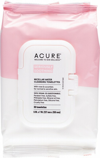 Acure Seriously Soothing Micellar Water Towelettes x 30