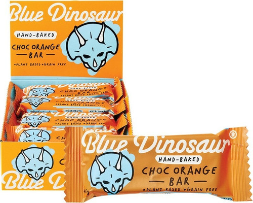 Blue Dinosaur Chocolate Orange x 12