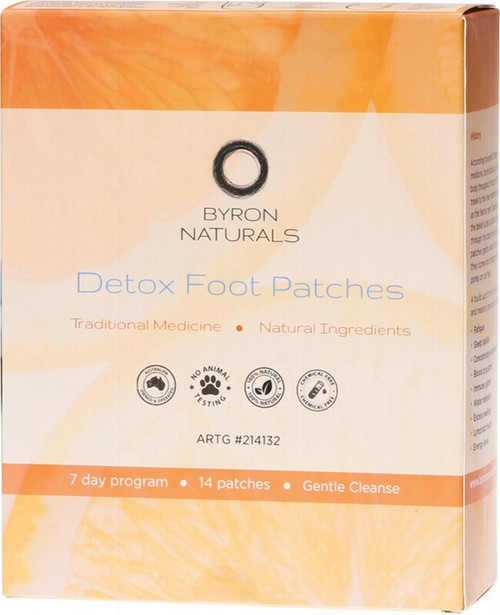 Byron Naturals Foot Patches x 14