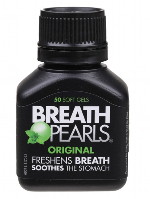 Breath Pearls Freshener 50 Soft Gels