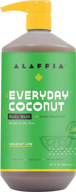 Alaffia Everyday Coconut Body Wash Cocolime 950ml