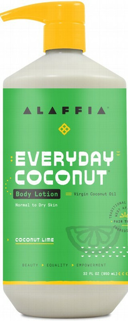 ALAFFIA Everyday Coconut Body Lotion - Coconut Lime 950ml