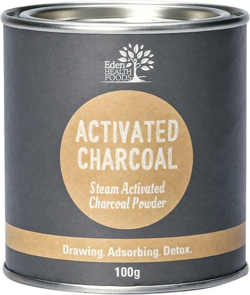 Eden Health Foods Activated Charcoal Powder 100g