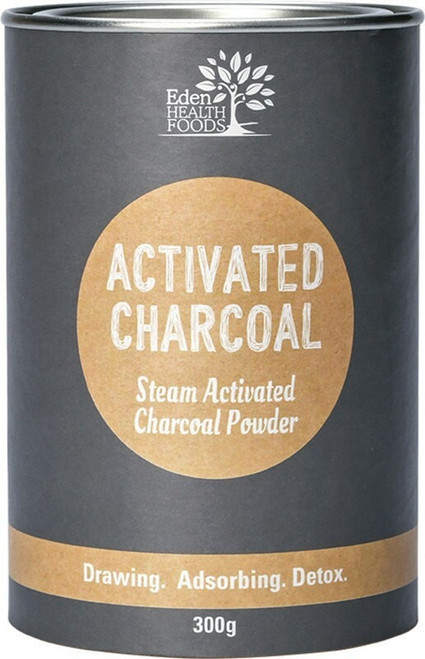Eden Health Foods Activated Charcoal Powder 300g