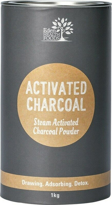 Eden Health Foods Activated Charcoal Powder 1kg