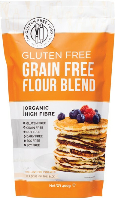 THE GLUTEN FREE FOOD CO. Grain Free Flour Blend Mix 400g
