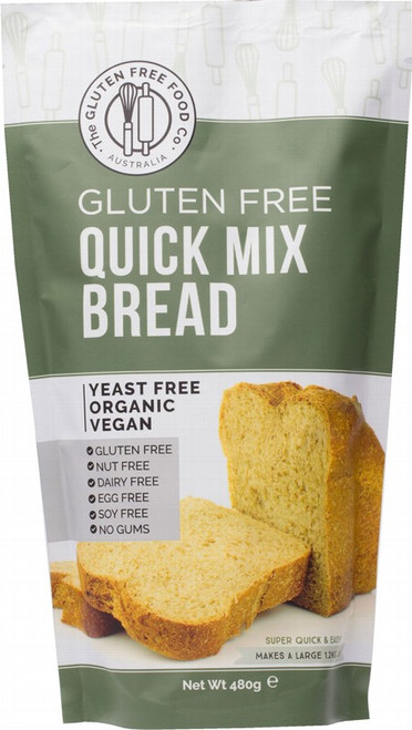 The Gluten Free Food Co Quick Bread Mix 480g