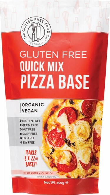 The Gluten Free Food Co Quick Pizza Base Mix 350g