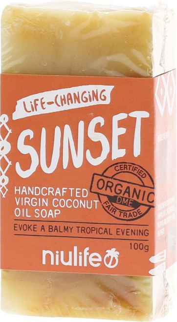 Niulife Soap Sunset Turmeric 100g